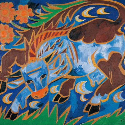 Синяя корова