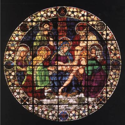 Андреа дель Кастаньо. Снятие с креста