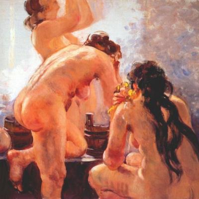 Советская общественная баня
