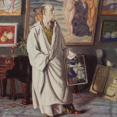 Портрет Ф.Ф. Нотгафта (Коллекционер)