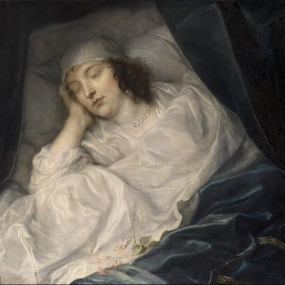 Venice, lady Digby on her deathbed