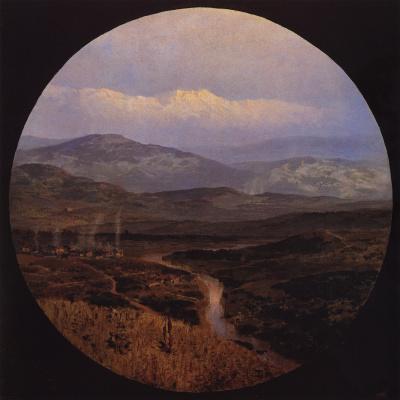 Vasily Dmitrievich Polenov. The river valley in Bulgaria
