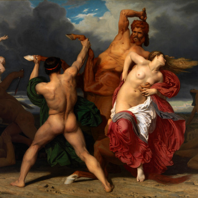 The Battle of the Centaurs and Lapithae
