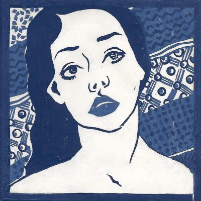 """Валерия Евгеньевна Салимон. """"Self-portrait"""""""