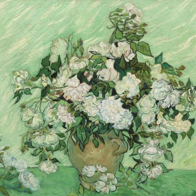Натюрморт Ваза с розами