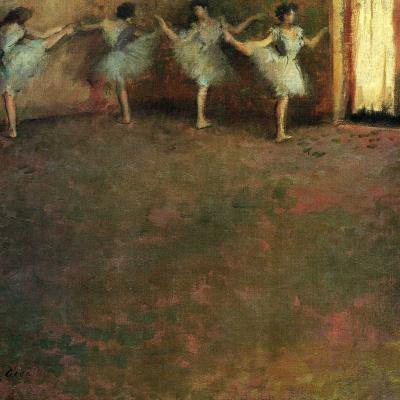 Перед балетом (фрагмент)