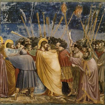 Взятие Христа под стражу, или Поцелуй Иуды