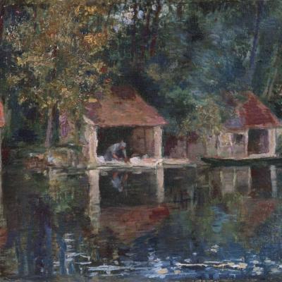 Прачечная в Гре-сюр-Луэн