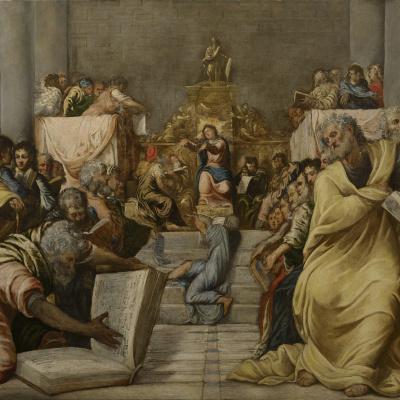 Disputa di Gesù nel tempio