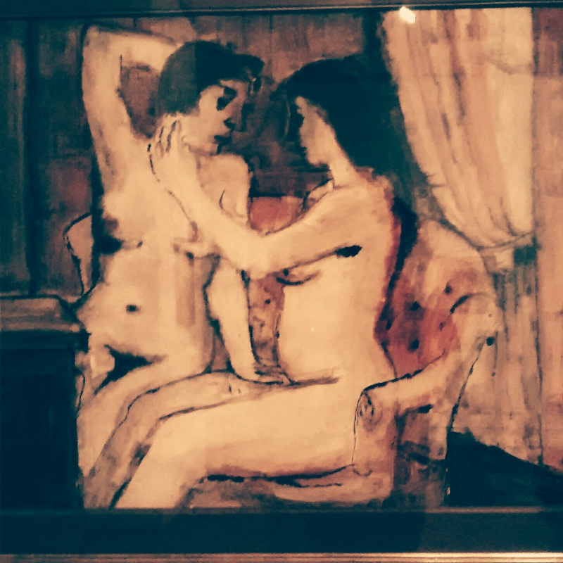 A skeleton in the closet or What are women waiting for in Paul Delvaux's paintings?