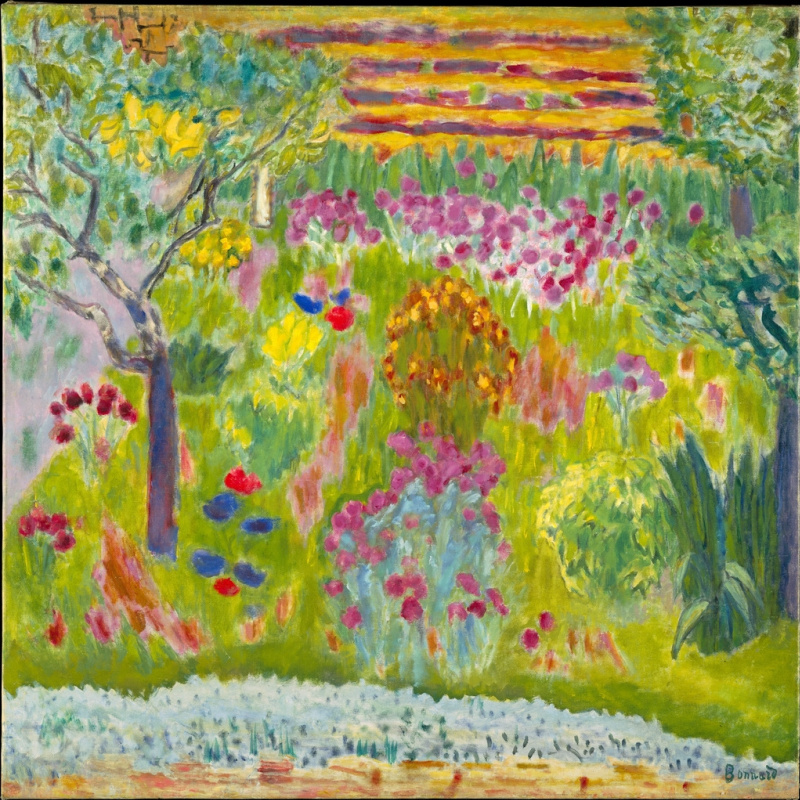 Pierre Bonnard. Garden