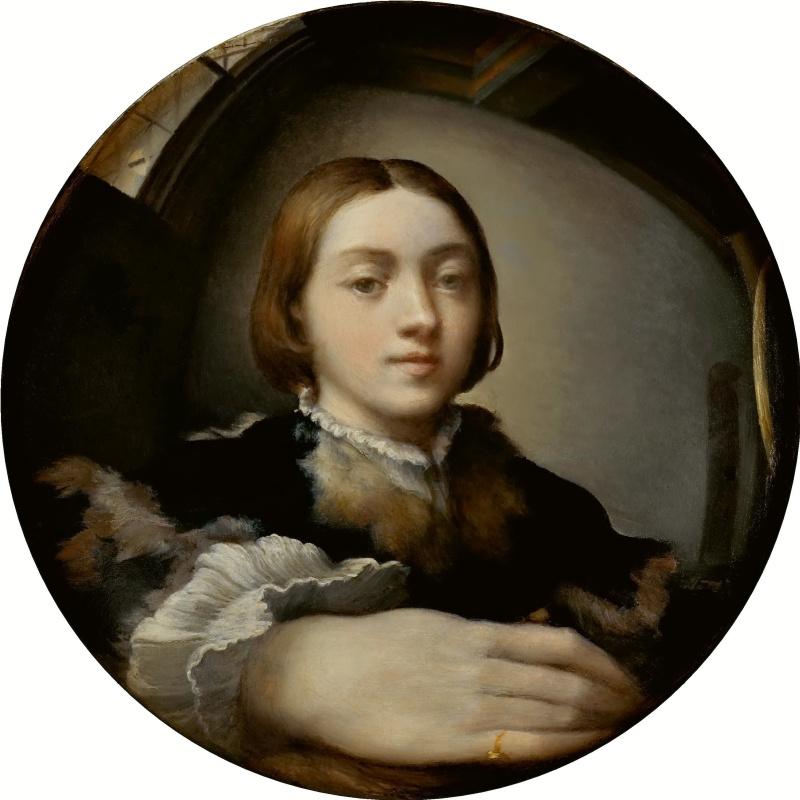 Франческо Пармиджанино. Автопортрет в выпуклом зеркале