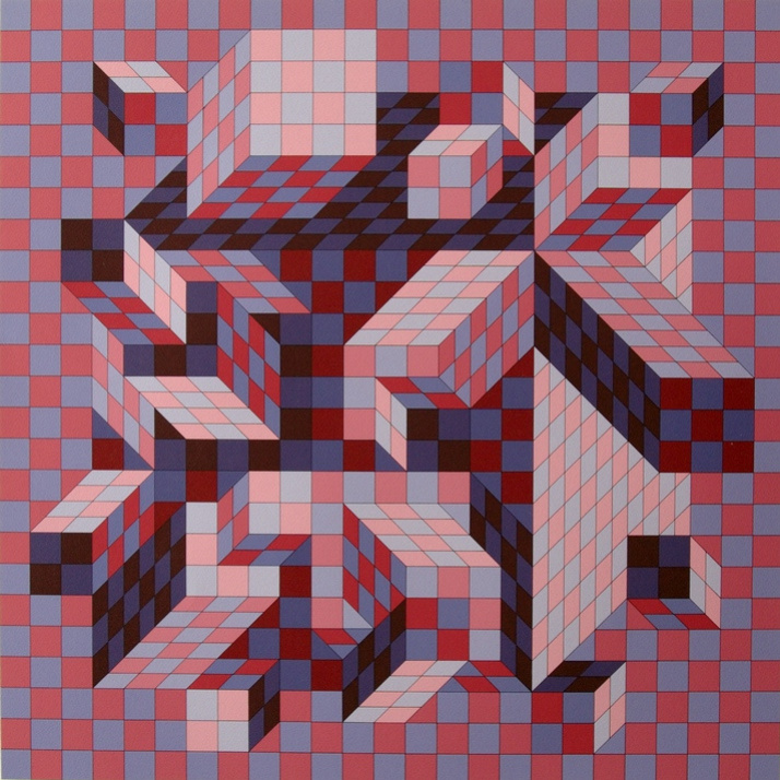 Victor Vasarely. Guiva