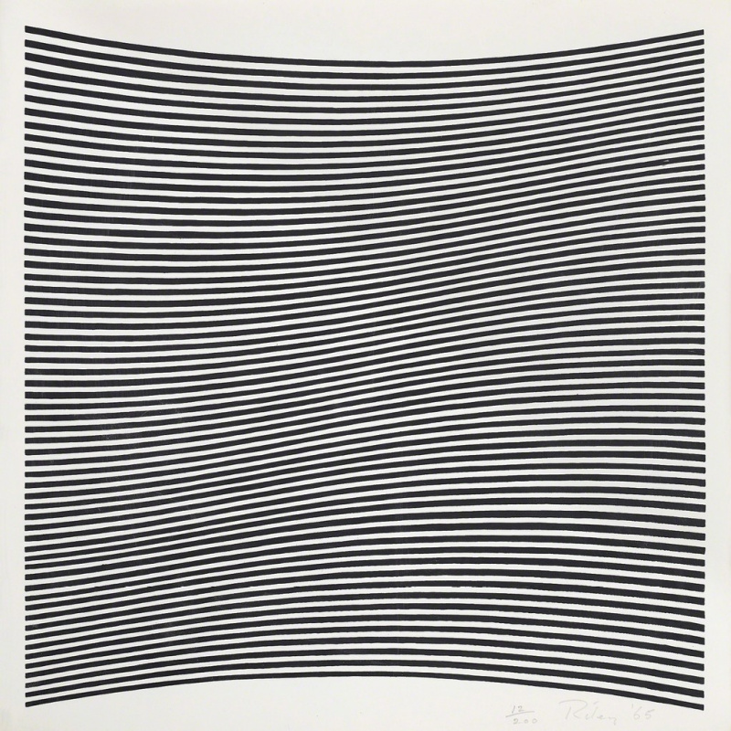 Bridget Riley. Untitled (La Lune en Rodage)