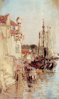 Venice. Channels