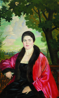 Портрет М.В. Шаляпиной