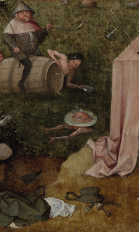 Allegory of gluttony and voluptuousness
