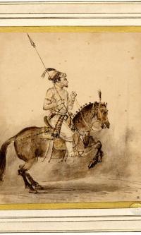 Конный могольский аристократ