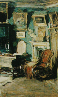 Interior. Early 1900s