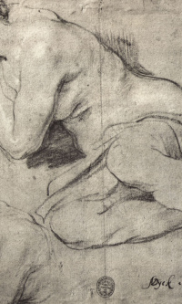 Sketches of a sleeping woman