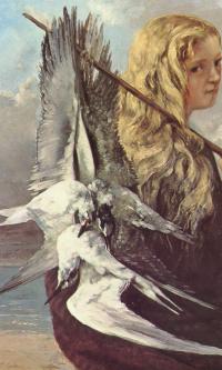 Девушка с чайками