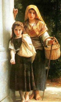 Девушки с корзиной