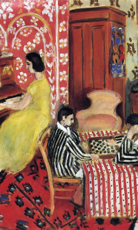 Пианистка и игроки