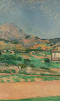 The Plain by Mont Sainte-Victoire, View from Valcros