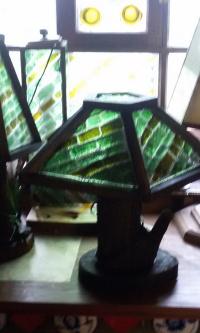 Настольная лампа Изумрудное дерево