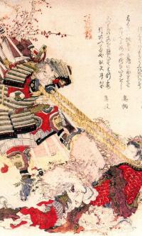 Японский и китайский герои