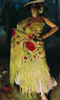 Испанская танцовщица (Отеро)