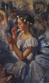 """Girls Sylphide (Ballet """"Les Sylphides"""")"""