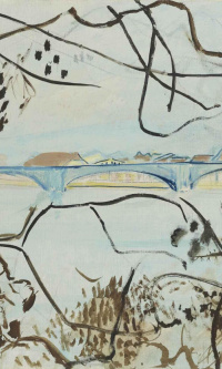 Landscape with bridge, Solothurn
