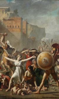 Сабинянки, останавливающие битву между римлянами и сабинянами