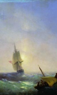 Спасающиеся от кораблекрушения
