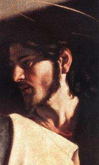 Призвание апостола Матфея. Фрагмент