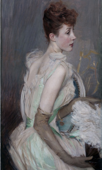 Portrait of Countess de Lyuss, nee Berthier