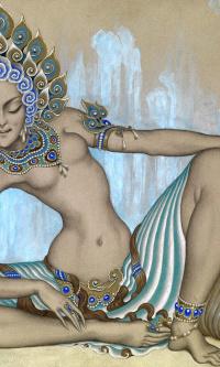 Мистическая танцовщица. 1926