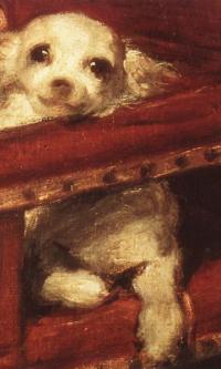 (Фрагмент картины) Портрет принца Фелипе Просперо