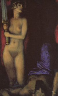 Nude and sword