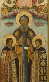 Sv. Princes of Yaroslavl Fedor, David and Constantine