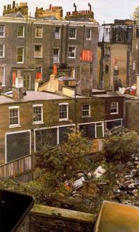 Wasteland with houses, Paddington