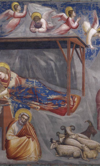 The Birth of Christ. Scenes from the life of Christ. Fragment