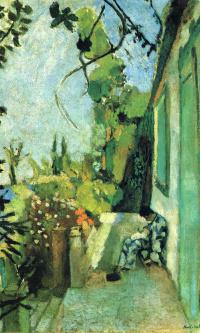 Terrace in Saint-Tropez