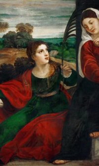 Madonna with St. Agnes and St. John the Baptist