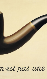 TheTreachery of Images (This is not a pipe)