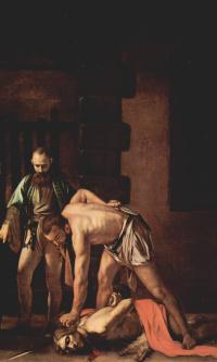 Обезглавливание Иоанна Крестителя