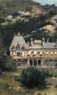 Massanra Palace. Sevastopol Art Museum. M.P. Kroshitsky.
