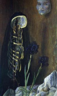 Натюрморт с вуалью вдовы