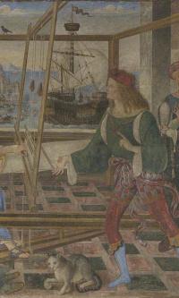Возвращение Одиссея (Пенелопа с женихами)